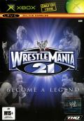 WWE WrestleMania 21 Xbox Front Cover