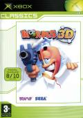 Worms 3D Xbox Front Cover