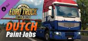 Euro Truck Simulator 2: Dutch Paint Jobs Linux Front Cover