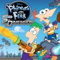 Phineas and Ferb: Across the 2nd Dimension PlayStation 3 Front Cover