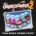 Overcooked! 2: Too Many Cooks Pack PlayStation 4 Front Cover
