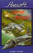 Harrier Attack! Amstrad CPC Front Cover