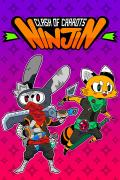 Ninjin: Clash of Carrots Xbox One Front Cover