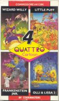 Quattro Cartoon Commodore 64 Front Cover