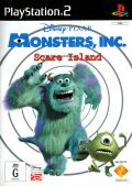 Disney•Pixar's Monsters, Inc.: Scare Island PlayStation 2 Front Cover