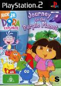 Dora the Explorer: Journey to the Purple Planet PlayStation 2 Front Cover