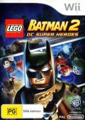 LEGO Batman 2: DC Super Heroes Wii Front Cover