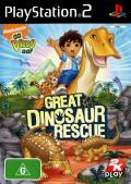 Go Diego Go!: Great Dinosaur Rescue PlayStation 2 Front Cover