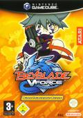 Beyblade VForce: Super Tournament Battle GameCube Front Cover