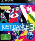 Just Dance 3 PlayStation 3 Front Cover