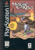 Magic Carpet Plus PlayStation Front Cover