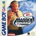 Madden NFL 2000 Game Boy Color Front Cover