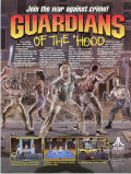 Guardians of the 'Hood Arcade Front Cover Front