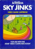 Sky Jinks Atari 2600 Front Cover