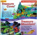 Treasure Cove! + Treasure Mountain! DOS Front Cover
