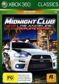Midnight Club: Los Angeles - Complete Edition Xbox 360 Front Cover