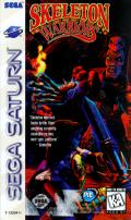 Skeleton Warriors SEGA Saturn Front Cover