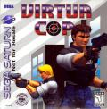 Virtua Cop SEGA Saturn Front Cover