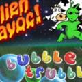 Alien Havoc! / Bubble Trubble PlayStation 3 Front Cover