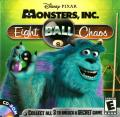 Disney•Pixar's Monsters Inc.: Wreck Room Arcade: Eight Ball Chaos Macintosh Front Cover