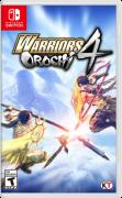 Warriors Orochi 4 Nintendo Switch Front Cover
