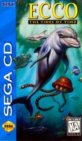Ecco: The Tides of Time SEGA CD Front Cover