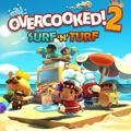 Overcooked! 2: Surf 'n' Turf PlayStation 4 Front Cover
