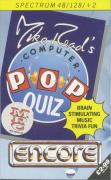 Mike Read's Computer Pop Quiz ZX Spectrum Front Cover