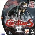 Nightmare Creatures II Dreamcast Front Cover