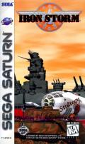 Iron Storm SEGA Saturn Front Cover