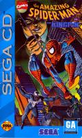 The Amazing Spider-Man vs. The Kingpin SEGA CD Front Cover