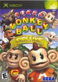 Super Monkey Ball Deluxe Xbox Front Cover