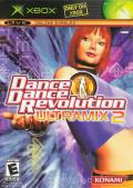 Dance Dance Revolution: Ultramix 2 Xbox Front Cover