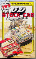 3D Stock Car Championship ZX Spectrum Front Cover