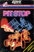 Pitstop Commodore 64 Front Cover