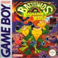 Battletoads in Ragnarok's World Game Boy Front Cover