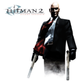 Hitman 2: Silent Assassin PlayStation 3 Front Cover PSN release (SEN)