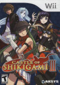 Castle of Shikigami III Wii Front Cover