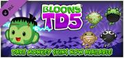 Bloons TD 5: Halloween Dart Monkey Skin Macintosh Front Cover