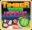 Timber Tennis: Versus Nintendo Switch Front Cover