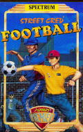 Street Cred Football ZX Spectrum Front Cover