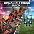 Mutant Football League: Demonic Legion Pack PlayStation 4 Front Cover