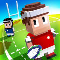 Blocky Rugby iPad Front Cover