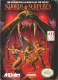 Swords and Serpents NES Front Cover