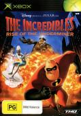 The Incredibles: Rise of the Underminer Xbox Front Cover