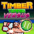 Timber Tennis: Versus PlayStation 4 Front Cover
