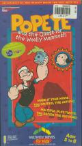 Popeye and the Quest for the Woolly Mammoth Windows Front Cover