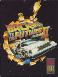 Back to the Future Part II Amiga Front Cover