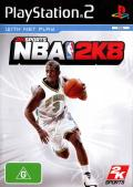 NBA 2K8 PlayStation 2 Front Cover