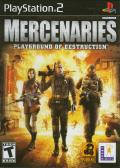 Mercenaries: Playground of Destruction PlayStation 2 Front Cover
